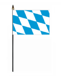 Bavaria Hand Flag - Small.